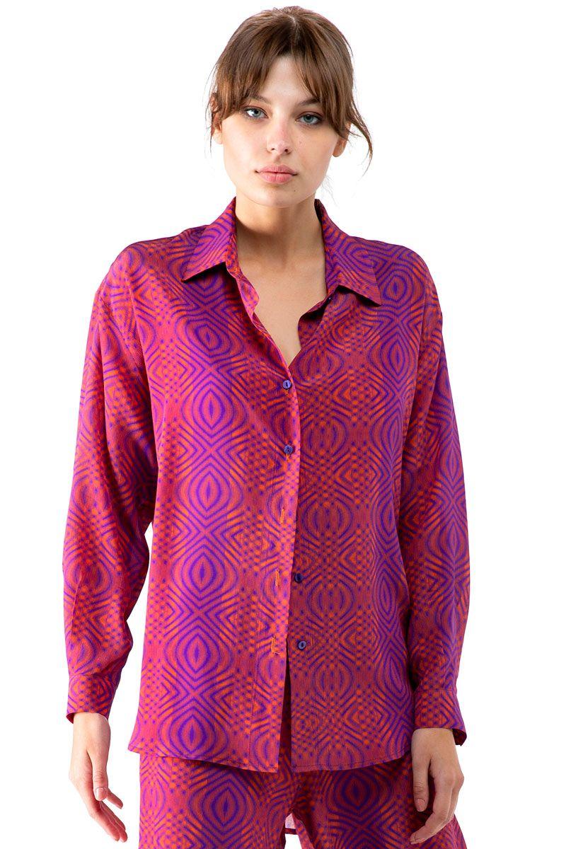 Loose Crepe Shirt